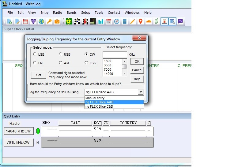How to Integrate Writelog for SO2R with FLEX-6700 – FlexRadio Systems