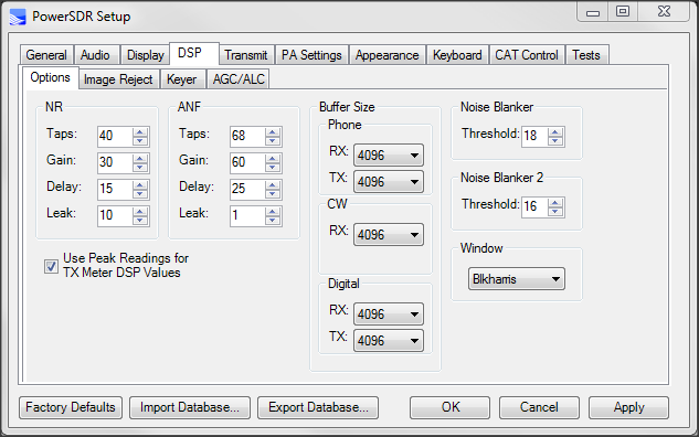 How to Configure the FLEX-3000/5000 for use with WINMOR